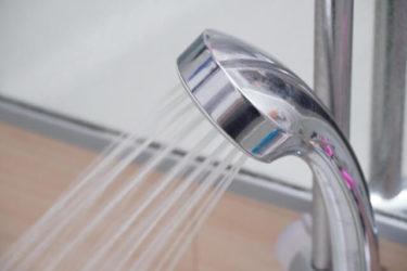 節水ができるシャワーに交換するだけで約50%カット